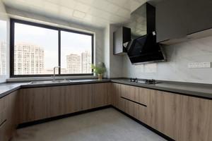 12平米现代风格精致厨房设计装修效果图