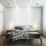 现代简约风格精致卧室装修效果图