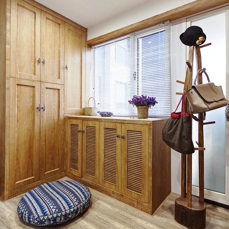 新中式风格素雅两室两厅室内装修效果图