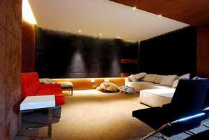200平米现代中式风格别墅装修效果图