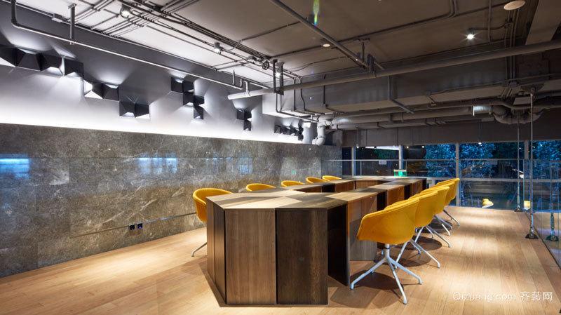 后现代风格个性创意会议室设计效果图图片