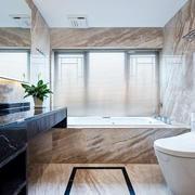 欧式风格精致卫生间设计装修效果图