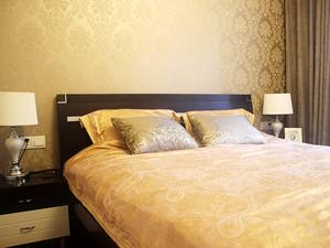 简约中式风格两室两厅室内装修效果图案例