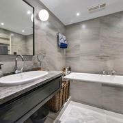 现代风格精致卫生间设计装修效果图赏析