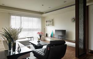 76平米宜家风格简约一居室室内装修效果图