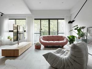 70平米北欧风格清新公寓设计装修效果图