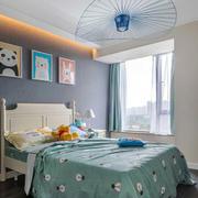 现代简约风格清新儿童房设计装修效果图