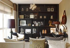 100平米后现代风格时尚室内装修效果图赏析