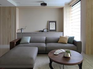 89平米简约风格三室两厅室内装修效果图赏析