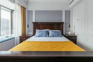 美式风格简约温馨卧室装修效果图赏析