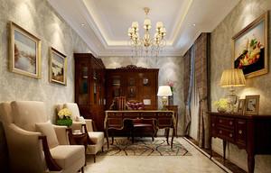 古典欧式风格精致大户型室内装修效果图