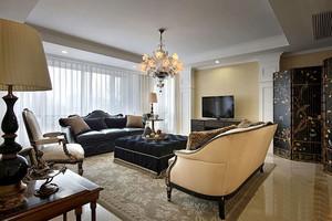 90平米新古典主义风格室内装修效果图