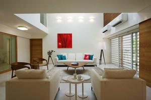 168平米宜家风格温馨复式楼室内装修效果图赏析