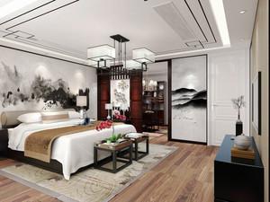 中式风格古典精致卧室设计装修效果图赏析