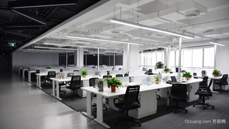 现代风格大型办公室设计装修效果图赏析