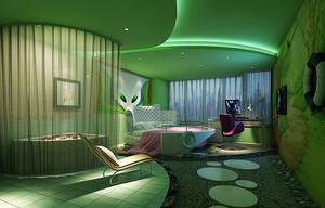 现代风格酒店客厅设计装修效果图