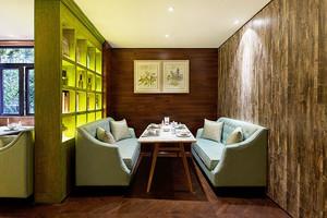 东南亚风格精美餐厅设计装修效果图