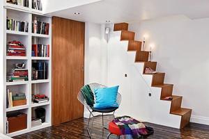 58平米北欧风格简约loft单身公寓装修效果图