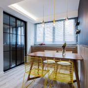 简约风格时尚简单餐厅设计装修效果图