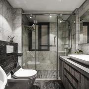 后现代风格简约卫生间设计装修效果图