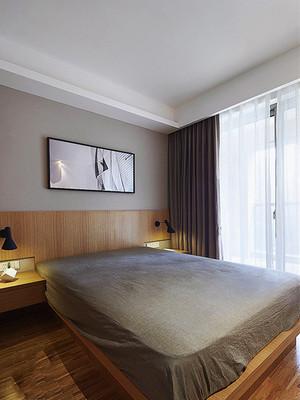 82平米简约风格精致两室两厅室内装修效果图