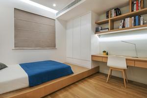 现代简约风格榻榻米卧室装修效果图赏析