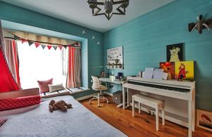 欧式风格精美清新儿童房设计装修效果图