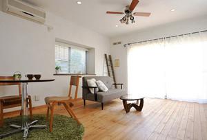 64平米日式风格简约一居室室内装修效果图