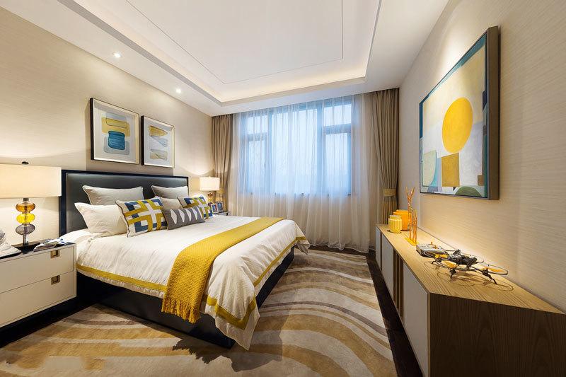 现代风格精美主卧室设计装修效果图赏析