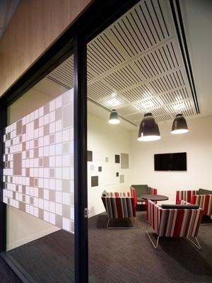 现代风格办公室会客厅装修效果图