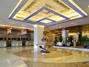 欧式风格精美酒店大堂设计装修效果图