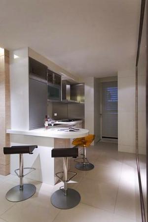61平米简约风格都市公寓设计装修效果图