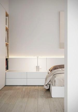 63平米现代简约风格单身公寓设计装修效果图