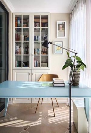 131平米欧式风格清新三室两厅室内装修效果图