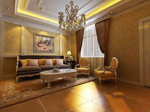 100平米新古典主义奢华室内设计装修效果图