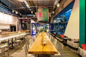 混搭风格时尚创意咖啡厅设计装修效果图