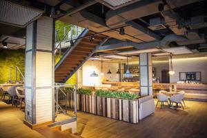 清新风格简约咖啡厅设计装修效果图