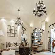 北欧风格精美别墅室内客厅装修效果图鉴赏