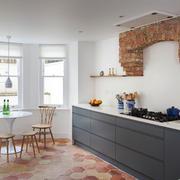 北欧风格简约厨房餐厅设计装修效果图