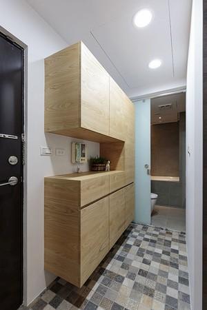后现代风格简约精致一居室室内装修效果图