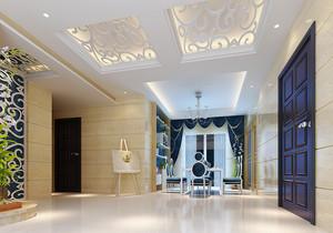 100平米简欧风格精美室内设计装修效果图