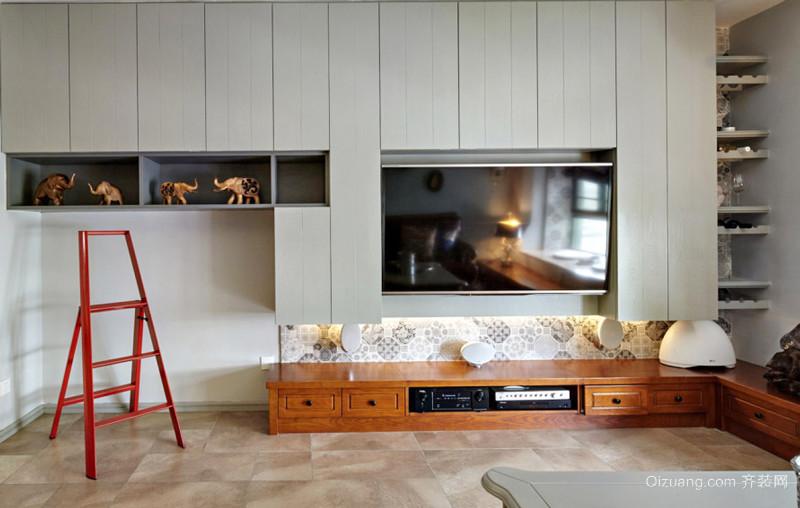 现代风格精美客厅电视背景墙装修效果图赏析