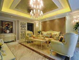 欧式风格精美大户型室内设计装修效果图