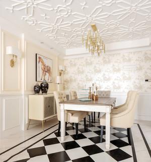 欧式风格奢华精美餐厅设计装修效果图鉴赏