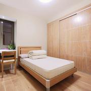 日式风格简约卧室设计装修实景图