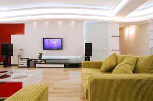 80平米现代简约风格婚房室内设计装修效果图
