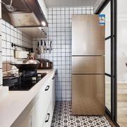 10平米现代风格精致厨房设计装修效果图