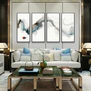 中式风格精美客厅电视背景墙装修效果图