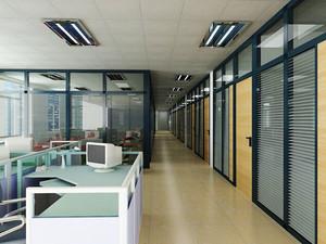 简约风格小型办公室设计装修效果图