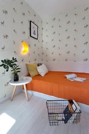 76平米北欧风格简约两室两厅室内装修效果图